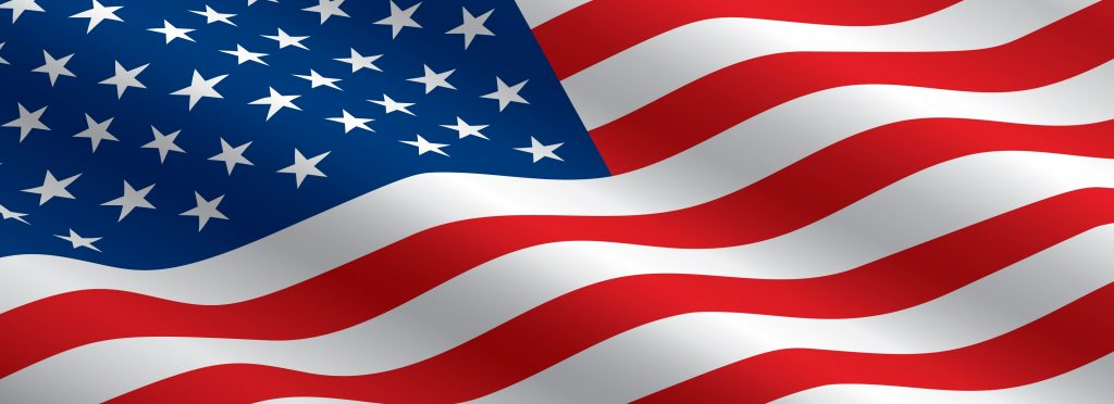 Image result for u.s. flag banner